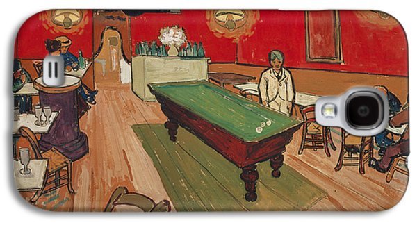 The Night Cafe In Arles Galaxy S4 Case by Vincent van Gogh