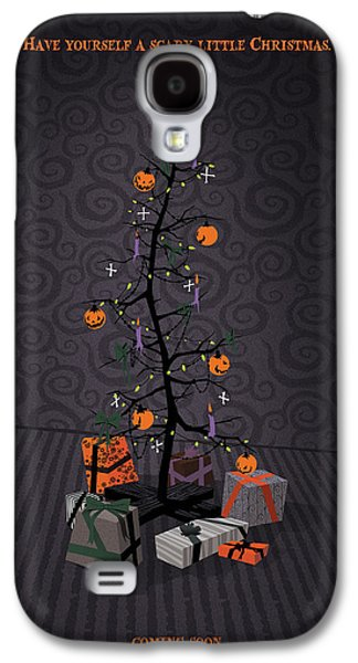 The Nightmare Before Christmas Alternative Poster Galaxy S4 Case by Christopher Ables