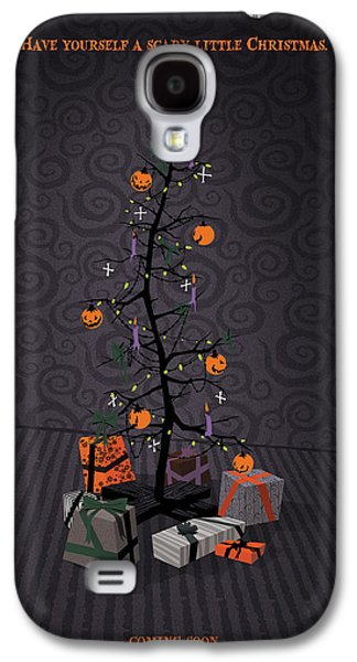 The Nightmare Before Christmas Alternative Poster Galaxy S4 Case