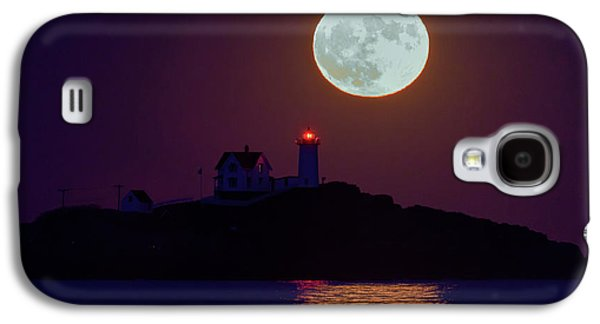 The Nubble And The Full Moon Galaxy S4 Case