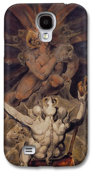 The Number Of The Beast Is 666 Galaxy S4 Case by William Blake