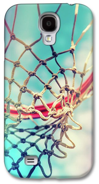 The Object Of Basketball Galaxy S4 Case by Karol Livote