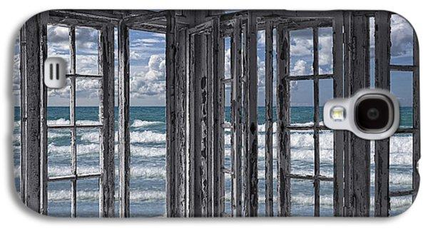The Ocean Is Coming To Take It Away . . . Haha Galaxy S4 Case by Joachim G Pinkawa
