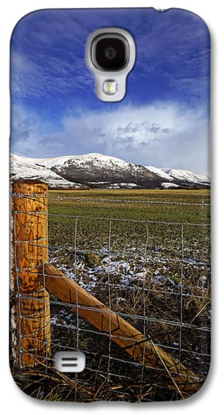 Galaxy S4 Case featuring the photograph The Ochils In Winter by Jeremy Lavender Photography