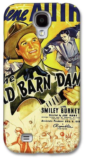 The Old Barn Dance 1938 Galaxy S4 Case