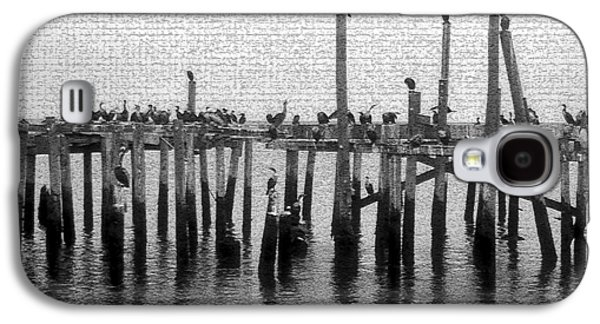 The Old Cedar Key Pier Galaxy S4 Case