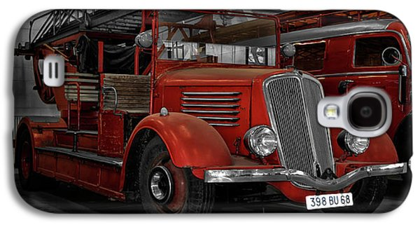 The Old Fire Trucks Galaxy S4 Case
