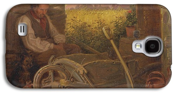The Old Gardener Galaxy S4 Case by Briton Riviere