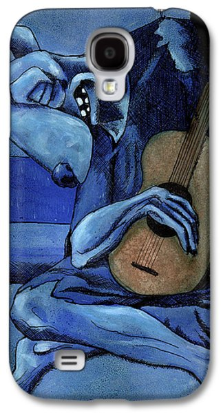 The Old Guitar Dog Galaxy S4 Case