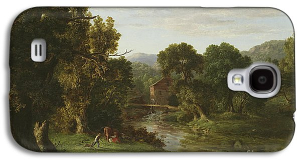 The Old Mill Galaxy S4 Case by George Inness