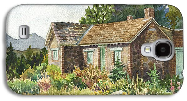 The Old Moore House At Caribou Ranch Galaxy S4 Case by Anne Gifford