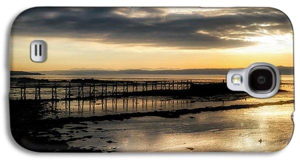 The Old Pier In Culross, Scotland Galaxy S4 Case