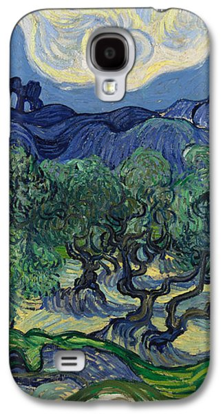 The Olive Trees Galaxy S4 Case by Vincent van Gogh