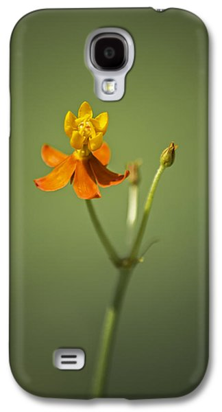 The One - Asclepias Curassavica - Butterfly Milkweed Galaxy S4 Case by Johan Hakansson