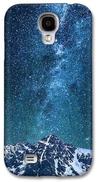 Galaxy S4 Case featuring the photograph The One Who Holds The Stars by Aaron Spong