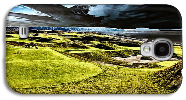 The Only Tree On The Chambers Bay Course - #15 Galaxy S4 Case by David Patterson