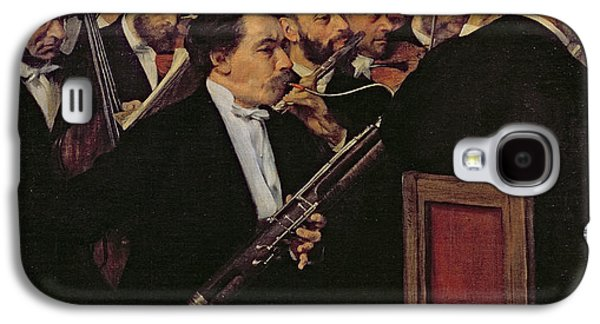 The Opera Orchestra Galaxy S4 Case by Edgar Degas