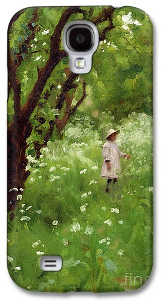 The Orchard  Galaxy S4 Case by Thomas Cooper Gotch