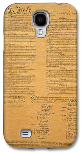 The Original United States Constitution Galaxy S4 Case by Panoramic Images