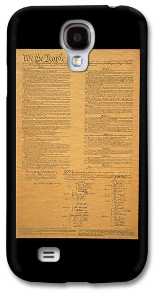 The Original United States Constitution Galaxy S4 Case
