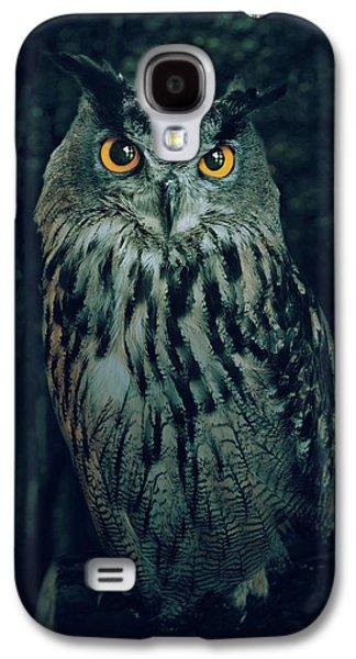 The Owl Galaxy S4 Case by Carlos Caetano