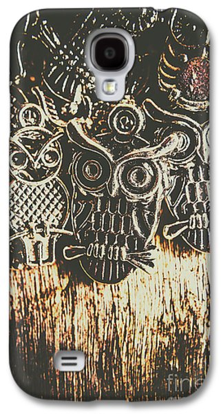 The Owlactic Gathering Galaxy S4 Case by Jorgo Photography - Wall Art Gallery