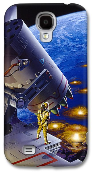 The Pacifist Galaxy S4 Case by Richard Hescox