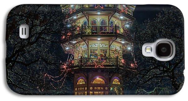 The Pagoda At Christmas Galaxy S4 Case