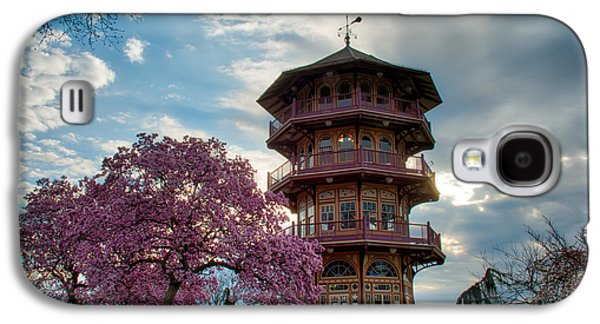 The Pagoda In Spring Galaxy S4 Case