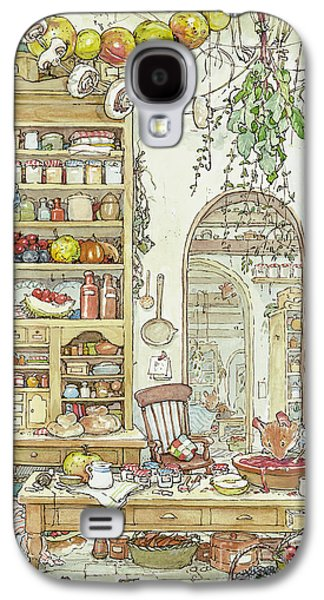 Mice Galaxy S4 Case - The Palace Kitchen by Brambly Hedge