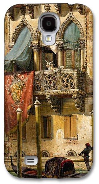 The Palazzo Contarini In Venice Galaxy S4 Case