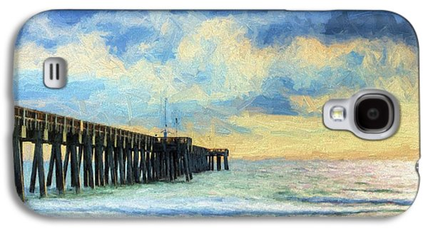 The Panama City Beach Pier Galaxy S4 Case