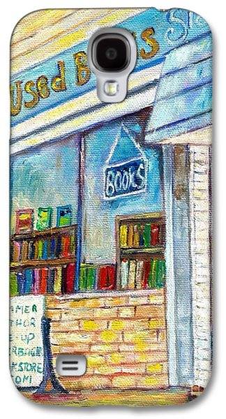 The Paperbacks Plus Book Store St Paul Minnesota Galaxy S4 Case