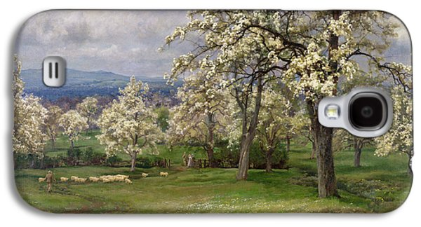 The Pear Orchard Galaxy S4 Case by Alfred Parsons