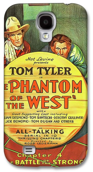 The Phantom Of The West 1931 Galaxy S4 Case by Mountain Dreams
