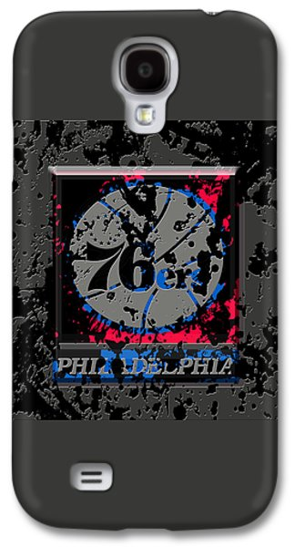The Philadelphia 76ers 1a Galaxy S4 Case by Brian Reaves