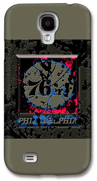 The Philadelphia 76ers 1b Galaxy S4 Case by Brian Reaves