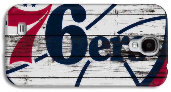 The Philadelphia 76ers 3a        Galaxy S4 Case by Brian Reaves
