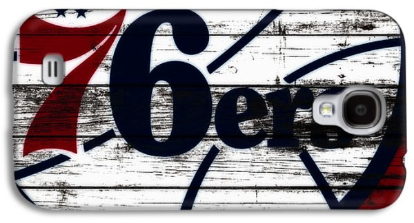 The Philadelphia 76ers 3b        Galaxy S4 Case by Brian Reaves