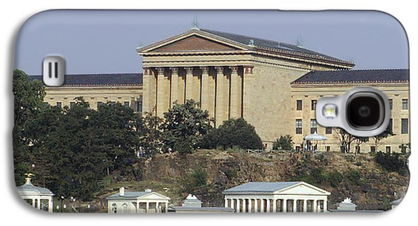 The Philly Art Museum And Waterworks Galaxy S4 Case by Bill Cannon