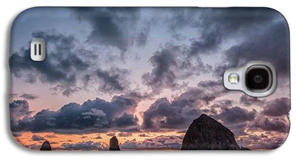 Galaxy S4 Case - The Photogaph Was Taken Of Haystack by Jon Glaser