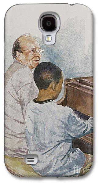 The Piano Lesson Galaxy S4 Case by Colin Bootman