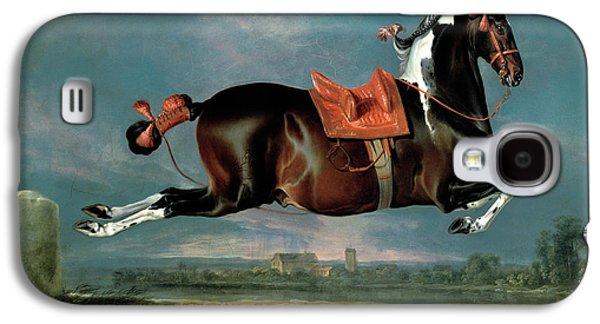 The Piebald Horse Galaxy S4 Case by Johann Georg Hamilton