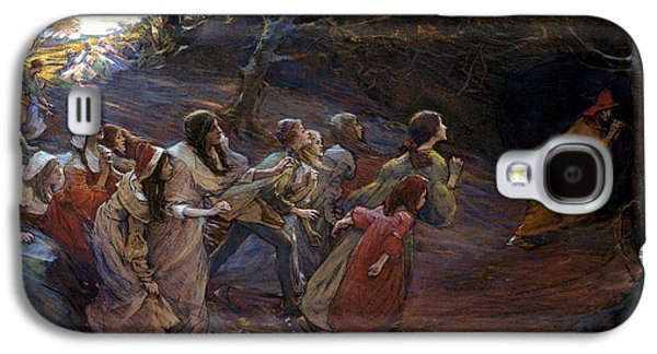 The Pied Piper Of Hamelin Galaxy S4 Case by Elizabeth Adela Stanhope Forbes