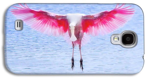 The Pink Angel Galaxy S4 Case by Mark Andrew Thomas