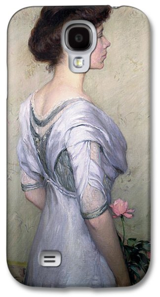 The Pink Rose Galaxy S4 Case by Lilla Cabot Perry