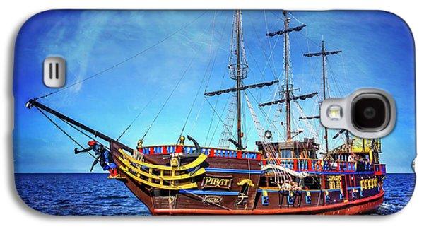 The Pirate Ship Ustka In Sopot  Galaxy S4 Case by Carol Japp