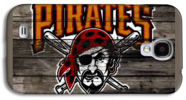 The Pittsburgh Pirates 1a Galaxy S4 Case by Brian Reaves