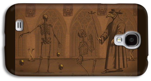 The Plague Doctor Galaxy S4 Case by Little Bunny Sunshine