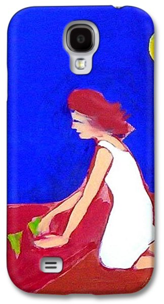Galaxy S4 Case featuring the painting The Planting by Winsome Gunning